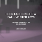 Watch: The Boss Fall/Winter 2020 Show Live From Milan
